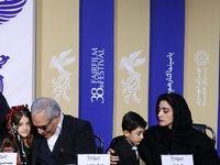 تیپ عجیب مهران مدیری در نشست خبری +تصاویر