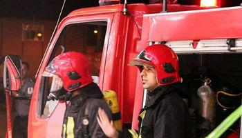 آتشسوزی در ساختمان اداری در خیابان جمهوری