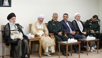 دیدار دستاندرکاران کنگره ۶۲۰۰شهید استان مرکزی با مقام معظم رهبری +تصاویر