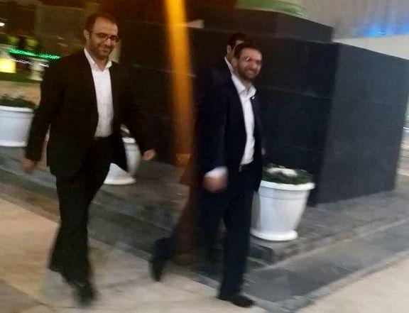وزیر ارتباطات تماشاگر بازی پرسپولیس و کاشیما شد +عکس