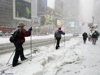 برف سنگین آمریکا را فلج کرد