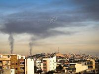 اهواز در محاصره دودهای نفتی +عکس