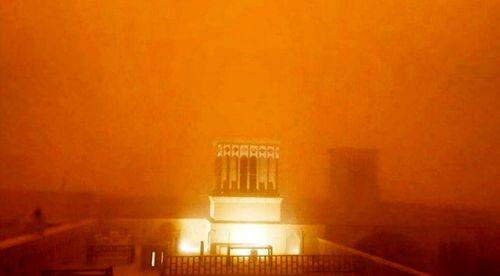 طوفان شن در یزد +عکس