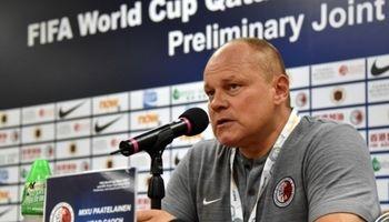 سرمربی هنگکنگ: به عملکرد تیمم مقابل ایران افتخار میکنم