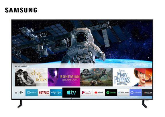سامسونگ اولین عرضه کننده اپل تیوی روی تلویزیون شد