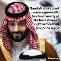 عربستان سهام تسلا را فروخت