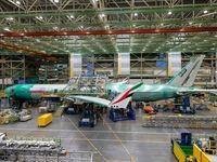 سقوط، ترمز تولید جهانی هواپیما را کشید