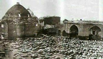 مزار قربانیان جنگ چالدران کجاست؟ +عکس