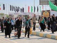 رکورد تردد زائران در مرز مهران شکسته شد