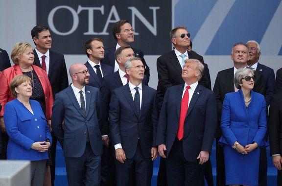 حمله توییتری ترامپ به کشورهای ناتو