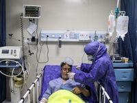وضعیت بیماران کرونایی و کادر درمان در بیمارستانها +عکس