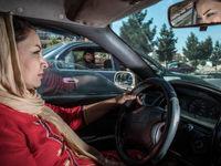 رانندگی زنان در افغانستان +تصاویر