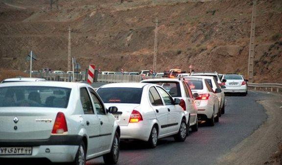 ترافیک نیمه سنگین در برخی محدودههای چالوس