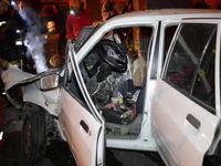 ۴ کشته در تصادف پراید و اتوبوس