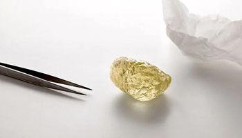 کشف بزرگترین الماس زردرنگ در قطب شمال +عکس