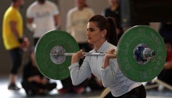 دختران وزنه بردار در کردستان +تصاویر