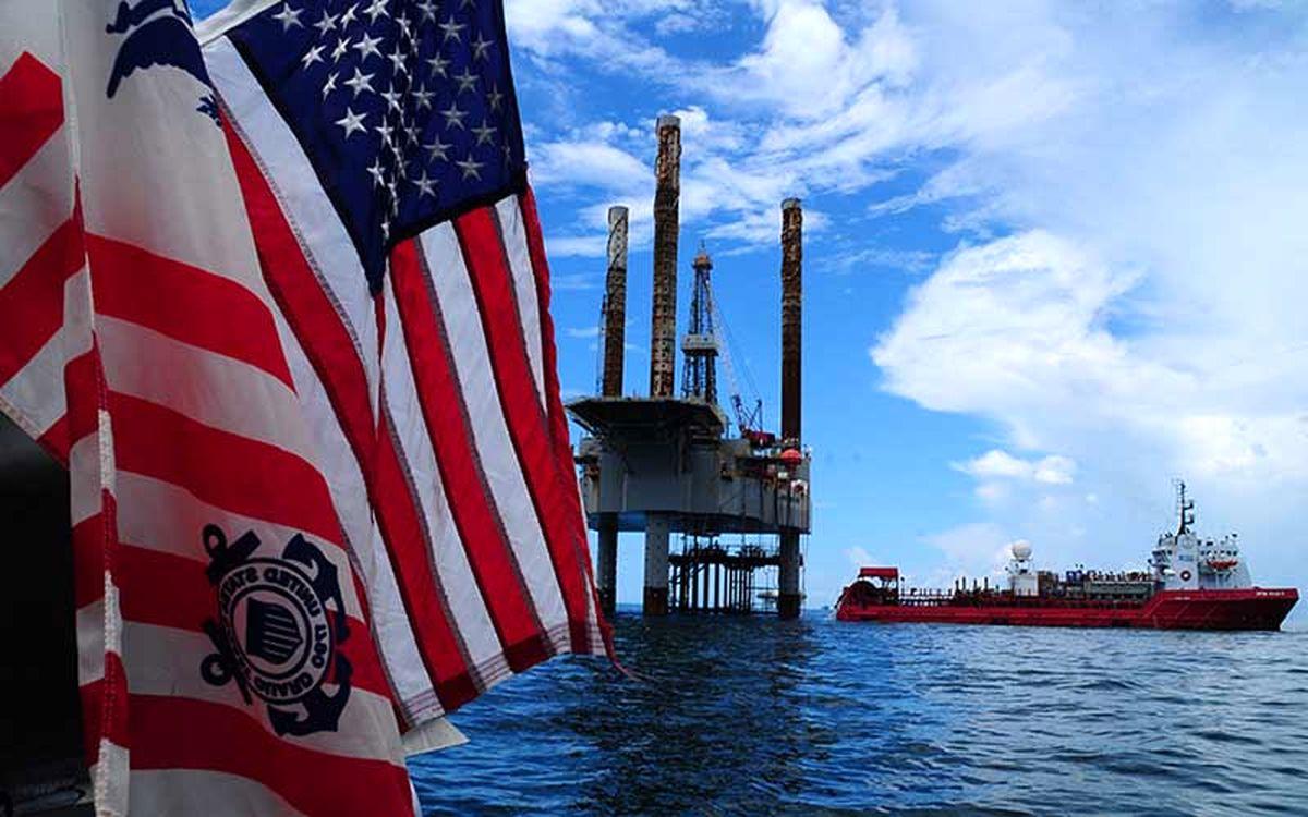 توقف تولید نفت آمریکا در خلیج مکزیک با نزدیک شدن طوفان