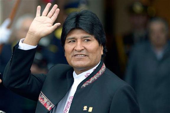 مورالس رئیس جمهور بولیوی استعفا داد