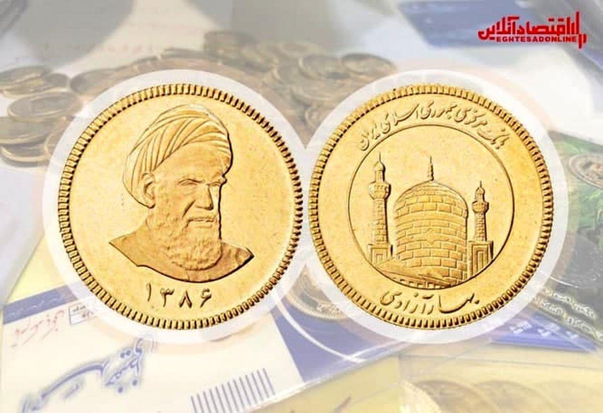 قیمت سکه امروز چند؟ (۱۴۰۰/۵/۱۶)
