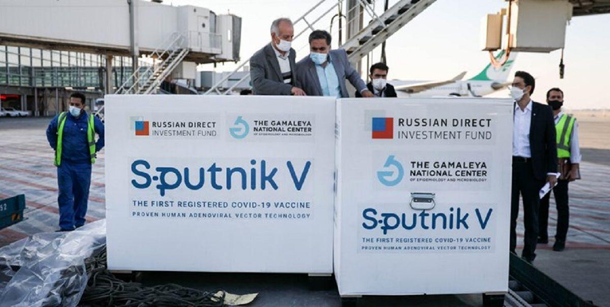 محموله جدید واکسن روسی به ایران رسید