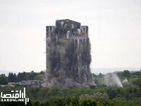 تخریب برج 21 طبقه در بیت لحم +فیلم