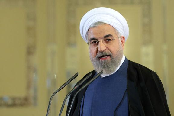روحانی: استعفای مدیرعامل راه آهن مسئولانه بود
