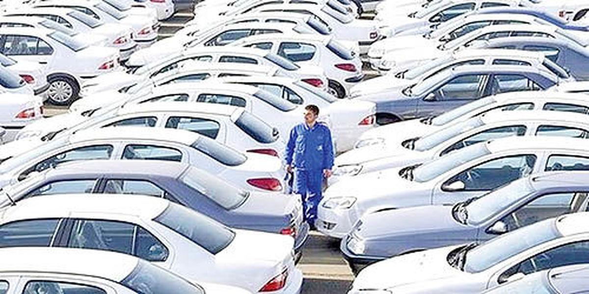 نصف خودروهای فروش رفته انبار شد