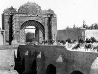 مشهورترین دروازه تهران در یک قرن پیش +عکس