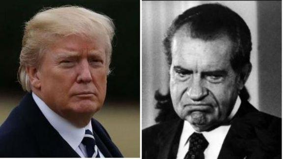 مردم آمریکا به اندازه نیکسون از ترامپ متنفرند