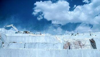 معدن سنگ مرمریت نیریز +عکس