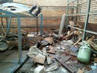 انفجار مرگبار در سوله نگهداری سیلندرهای گاز