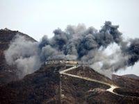 نابودی ۱۰ پست مرزی در کره شمالی +عکس