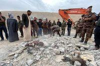 الحشد الشعبی تصاویری از حمله هوایی آمریکا به نیروهای عراقی منتشر کرد