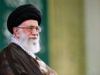 سخنان رهبرانقلاب در سالروز ارتحال امام خمینی +فیلم