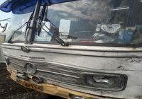 اتوبوسی که ماموران ناجا را در خیابان پاسداران زیر گرفت +عکس
