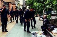 حال ناخوش دستفروشان پایتخت