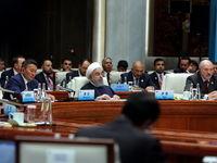 روحانی: طرفین برجام برای رفع تحریمها مسؤولیت دارند/ یکجانبه گرایی اقتصادی، سیاسی و حقوقی؛ تضعیف همگرایی منطقهای است