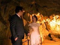 برگزاری جشن عروسی در غار خفاشها +عکس