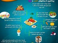 توصیههای تغذیهای وزارت بهداشت برای پیشگیری از بیماریهای تنفسی