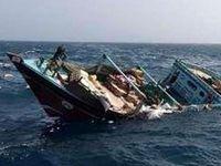یک کشتی باری در سواحل عسلویه غرق شد