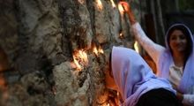 سال نوی ایزدیهای عراق +تصاویر