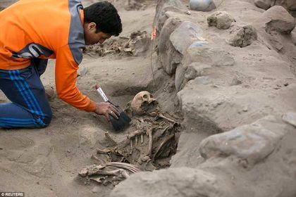 56 کودکی که برای خدایان پرو قربانی شدند +تصاویر