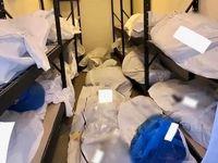 تصاویر وحشتناک از تلنبار شدن اجساد قربانیان کرونا در آمریکا