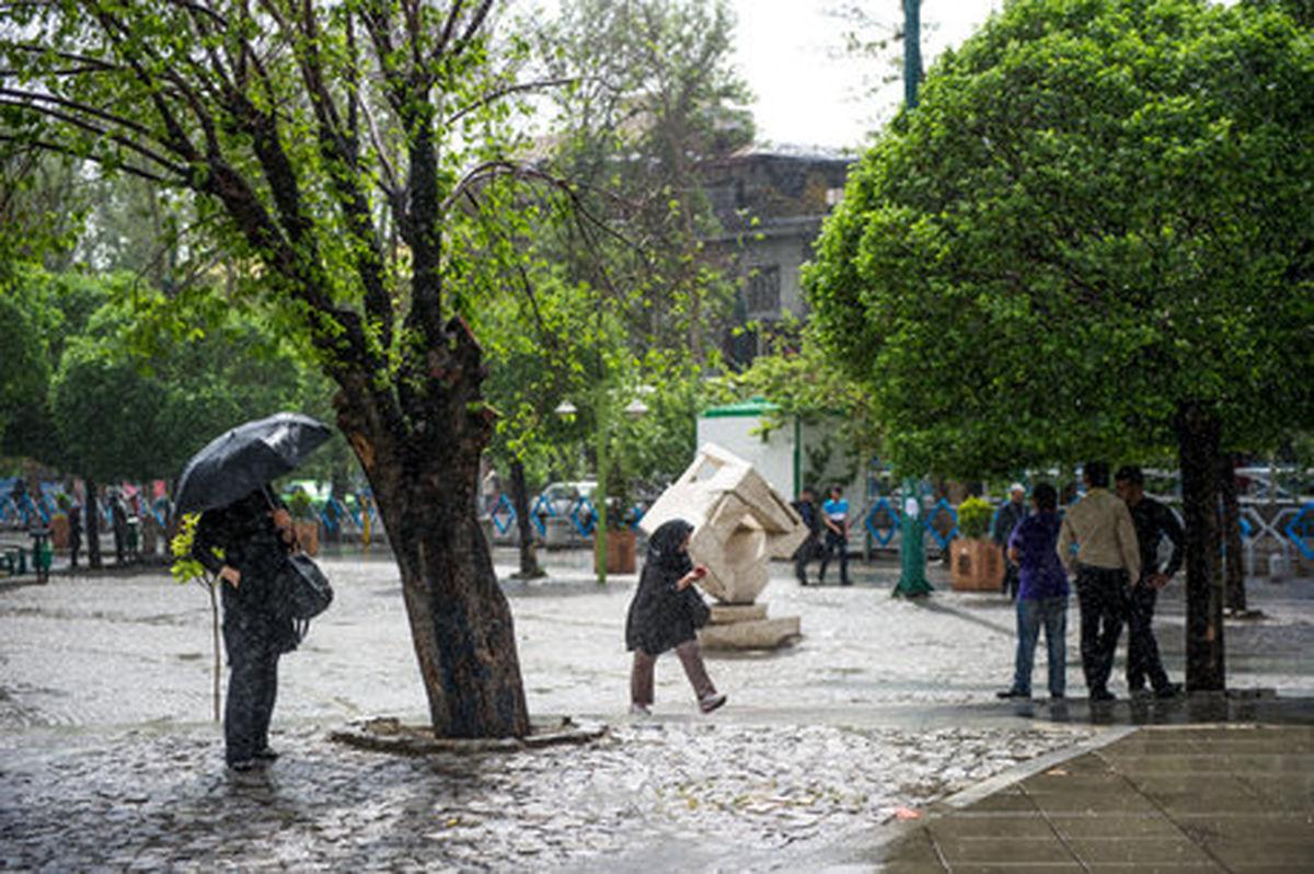 تداوم بارش بهاره در ۷ استان کشور