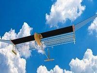 هواپیمایی که با کمک باد پرواز میکند +عکس