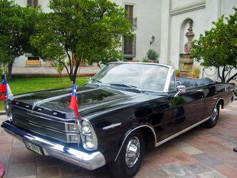 فورد گالاکسی 500 ایکس ال تولید 1970، هدیه پادشاه شیلی به الیزابت 2