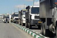 تردد کامیون در تهران ممنوع است