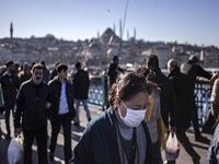 تعداد مبتلایان به کرونا در ترکیه به ۹۴۷ نفر رسید