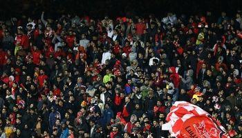 شعار هواداران پرسپولیس علیه قلعهنویی