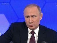 پوتین: ارتش روسیه از هر تجاوزکاری نیرومندتر است +تصاویر